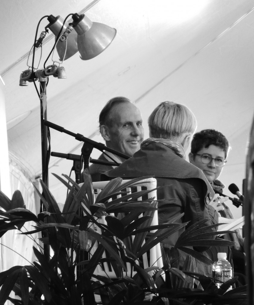 Bob Brown in discussion with Sophie Cunningham and Ashley Hay