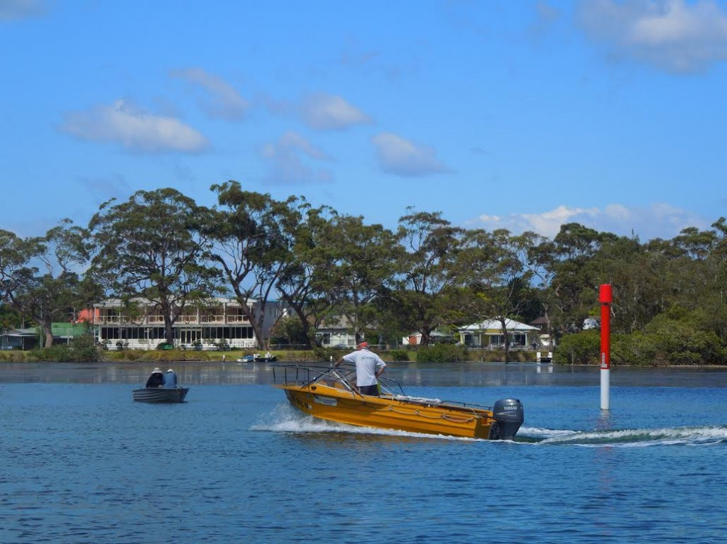 Sussex Inlet canal estate, south coast NSW